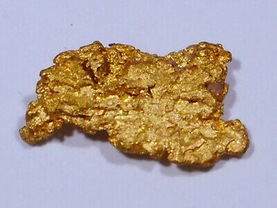Stunning Australian Sparkling Gold Nugget ( 0.36 grams ).