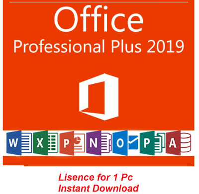 Office 2019 Professional Plus 32/ 64 Offical Key Code 5 min delivery Trusted