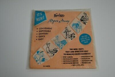 Vintage Kee Lox Spirit Away Cleaning Sheets