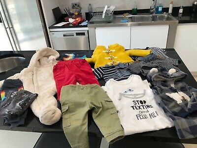 Baby Boys bundle of clothing - 6-9 month's total 14 items.