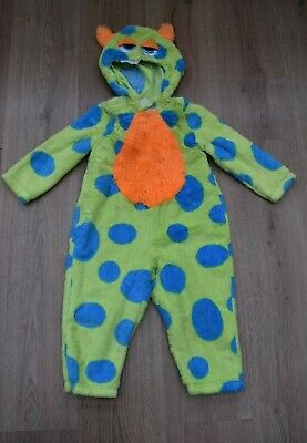 Baby Boys Age 18-24 Months Monster Fancy Dress Costume Halloween