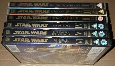 Star Wars - Original And Prequel Trilogy DVD Sets Including Theatrical Versions