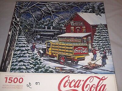 Coca Cola Christmas Jigsaw Puzzle Yuletide Jigsaw Puzzle 1500 Piece Puzzle