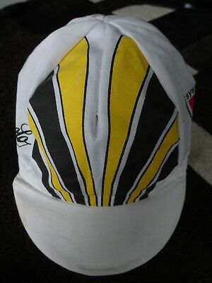 CAMPY CYCLING CAP ITALIA HAT CAP POLYESTER SUBLIMATED UV BLUE PISTA CAMPAGNOLO