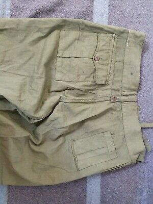 WWII Jungle Green Trousers