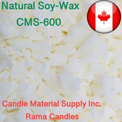 Natural Soy Wax CMS-600 5 lb + FREE SHIPPING+ Free Vybar/whitener/UV stabilizer