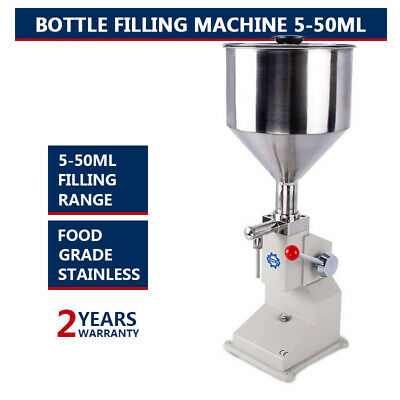 The New Filling Machine Filling 5-50ml Filling Bottler Water Filler With Parts