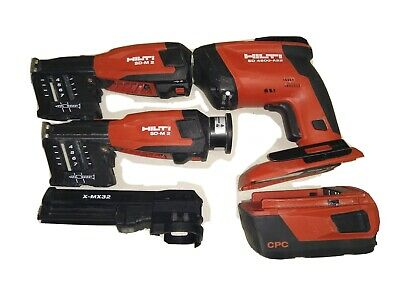 Hilti SD 4500-A22 Drywall Screwdriver & two SD M-2  & Battery CPC