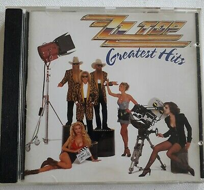 ZZ Top Greatest Hits (CD, made in Germany 1992, Warner Bros.) 7599-26846-2