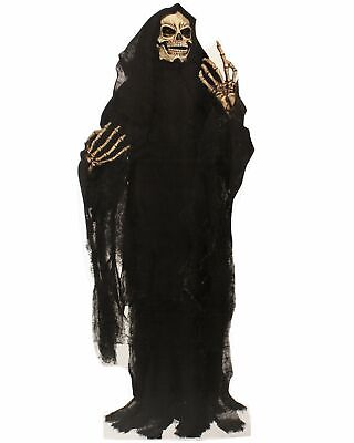 Grim Reaper Life Size Cardboard Cut Out Stand Up