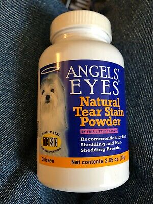 Angel Eyes 94922017819 DOG TEAR STAIN NATURAL CHICKEN 75GM 2.65 Oz Expired 10/19