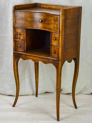 19th Century French night stand with five drawers