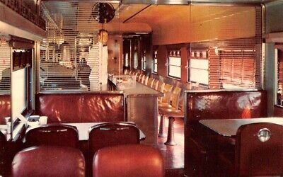 Cadillac & Lake City Railway Co Diner Restaurant Michigan Atchison Topeka