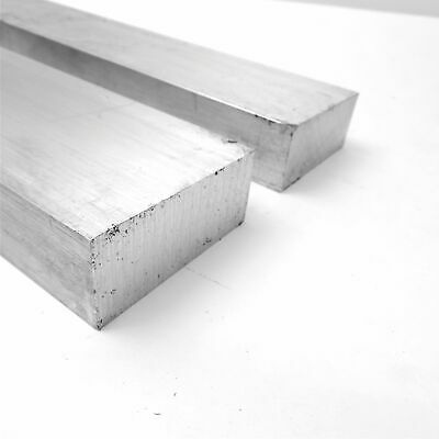 "1.5"" x 3"" Aluminum 6061 FLAT BAR 15"" Long new mill stock QTY 2 sku M257"