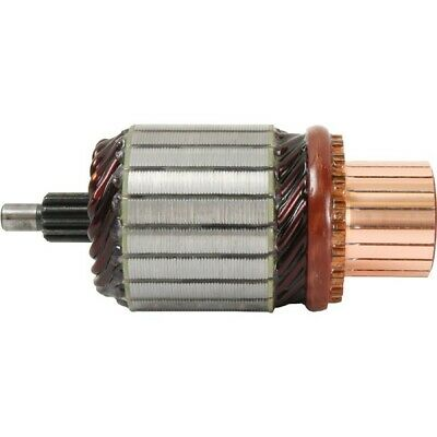 New Armature for Starter, 12 Volt, CW, Delco 300-12093, 3400, 61-140 10475588