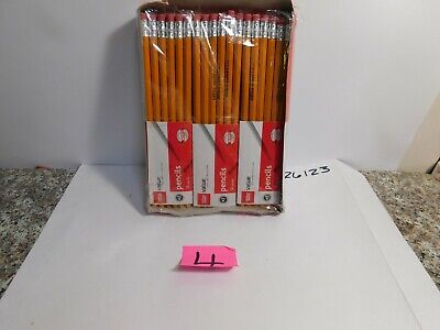 C1   Office Depot  Pencils, #2HB, Yellow,  3 packs of 12