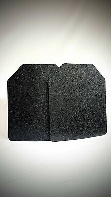 8x10 Curved- 2 Plates Included. Anti-Spall Protection- Made of AR500 Steel