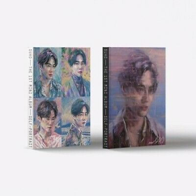 US SHIPPING EXO Suho - [Self-Portrait] 1st Mini Album CD+Booklet+Post+PhotoCard