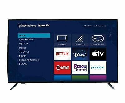 "Westinghouse  50"" Class - LED - 2160p - Smart - 4K UHD TV with HDR - Roku TV"