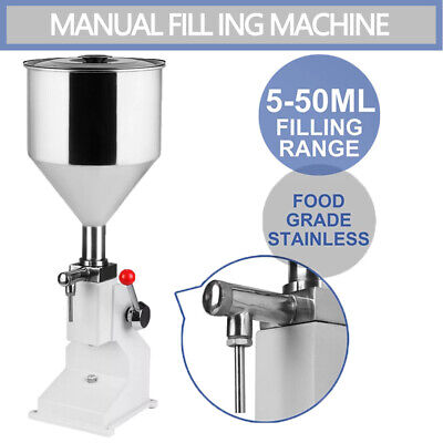New A03 Filling Machine Filling 5-50ml Filling Bottler Water Filler With Parts