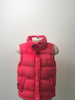Girls Mountain Essentials Pink Quilted Padded Bodywarmer Coat Jacket  Age 2-3 Yr