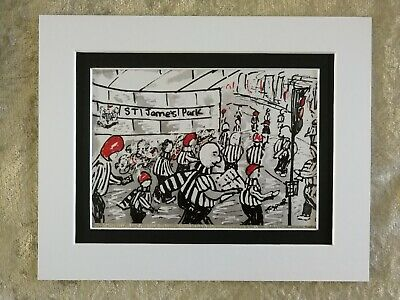 Box Canvas: St James Park 002 Newcastle United Toon Army Ready To Hang