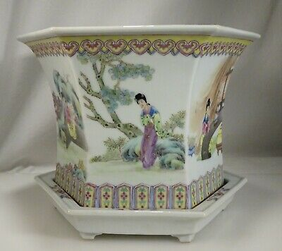 Chinese Famille Rose Porcelain Planter - 59290
