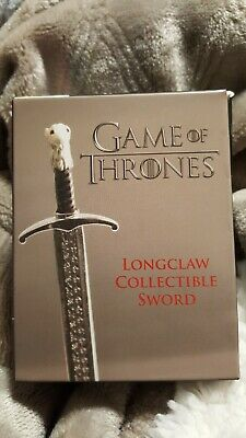 Game of Thrones Longclaw Collectible Sword (Miniature Editions)