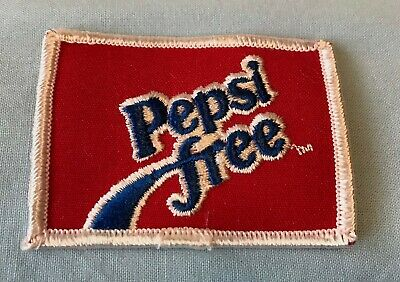 Vintage Pepsi Free Embroidered Beverage Advertising Patch