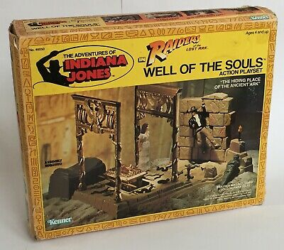 Vintage Indiana Jones Raiders Of The Lost Ark Well Of The Souls Playset Box Only