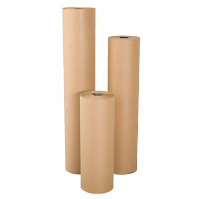 "18"" wide x 900' long 40 lb Rolled Brown Kraft Paper Shipping Void Crafting Fill"