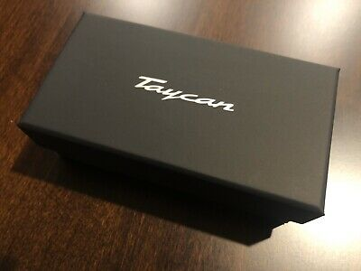 PORSCHE TAYCAN SOLID ALUMINUM BILLET LIMITED EDITION 1/43rd MODEL NEW BOXED 2020