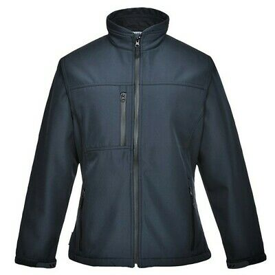 085 Charlotte Ladies Soft Shell Navy Sml TK41NARS Portwest Top Quality Product