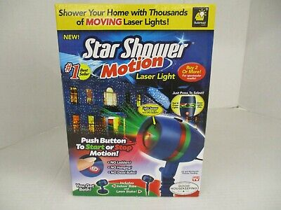 Bulbhead Star Shower Motion Laser Light - 2 Laser Modes - Ap 4033