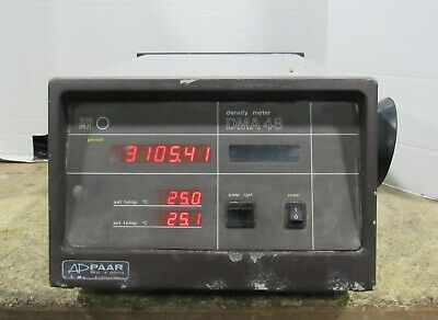 Anton Paar Model DMA 48 Density Concentration Meter 086042 For Parts or Repairs