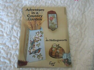 Adventure in a Country Garden Tole Decorative Painting Pattern Instruction Book