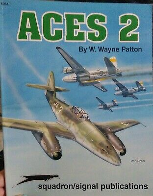 Squadron/Signal Publications ACES 2 by W.Wayne Patton #6084 good condition!