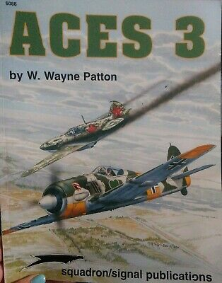 Squadron/Signal  Publiacation Aces 3 by W.Wayne Patton #6088 great condition!