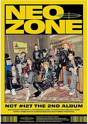 NCT 127 - NCT #127 Neo Zone CD New 2020