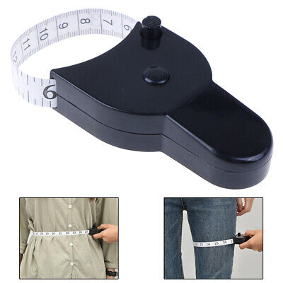Fitness Accurate Body Tape Ruler Measure Body Fat Caliper Health Care Monit~GN