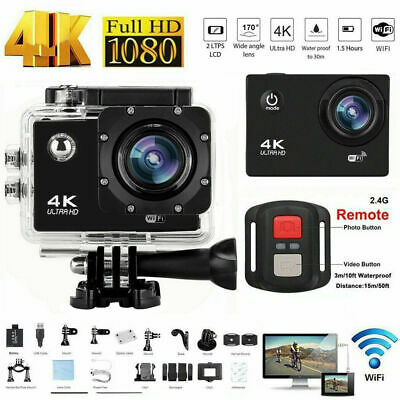 2020 Wifi 1080P 4K Ultra HD Sports Action Camera DVR Camcorder Waterproof DV