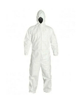 PROMAX II Disposable Coveralls Zip Front w/ Hood, Elastic Wrists and Boots