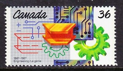 Canada No 1134, Engineering Institute Centenary,   Mint Nh