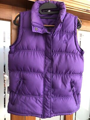 Girls Violet/Purple Mountain Warehouse Gilet / Body Warmer , Aged 13