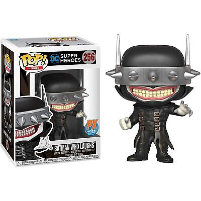 "Funko Toys PoP DC Heroes Batman Who Laughs PX Exclusive 4"" Figure #256 =FREE SH="