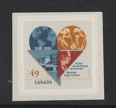 Canada No 2056,  Montreal Heart Institute , Mint Nh