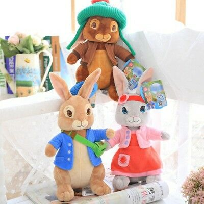 30CM lovely Peter Rabbit Beatrix Potter Plush Toys Collection for Baby Gifts UK