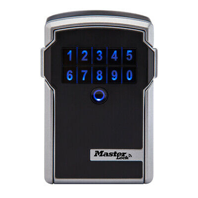 Master Lock 5441ENT Bluetooth Wall Mount Lock Box for Business Applications