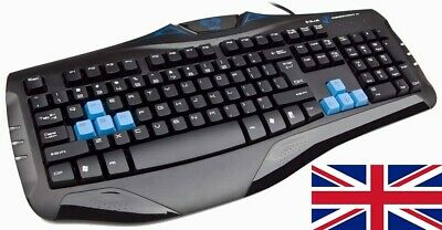 VicTsing Wireless Keyboard & Mouse For Laptop PC Mac UK Layout Combo Slim Quite