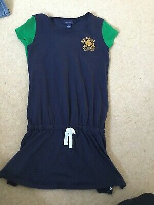 RALPH LAUREN GIRLS Blue dress size 6X( fit 5-8 years )